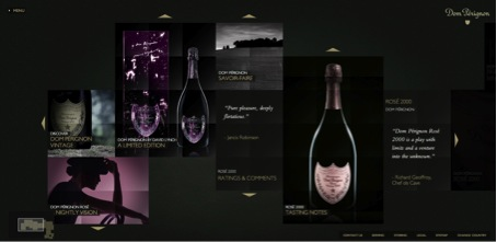 Champagne et luxe digital