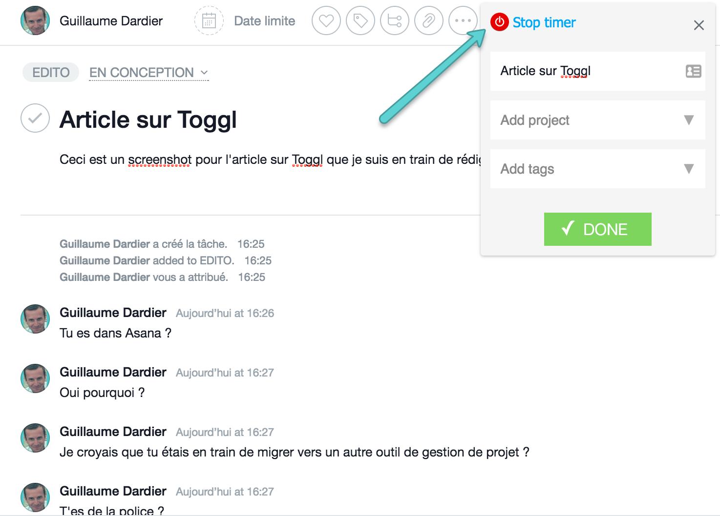 Toggl-pour-asana